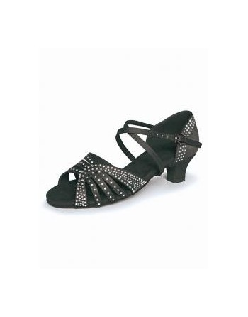 Páskové taneční boty RV812 černé nebo tělové