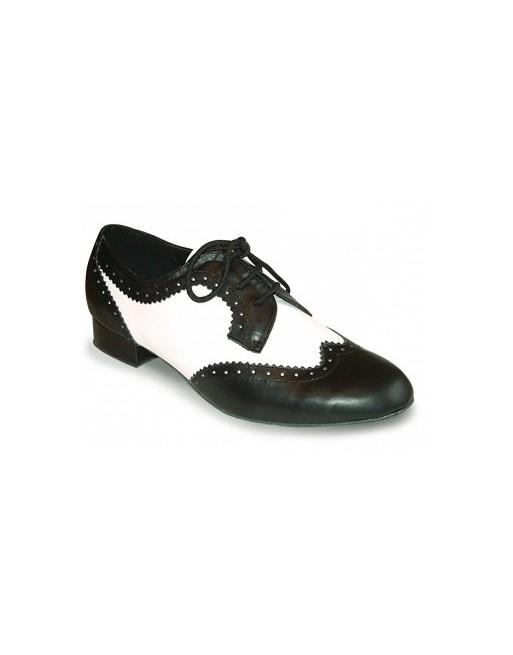 Černo-bílé pánské taneční boty Ritz