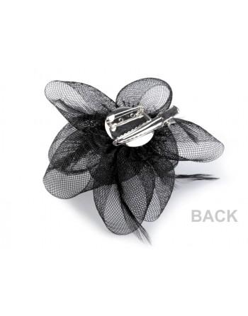 Ozdobná květina - do vlasů nebo jako brož