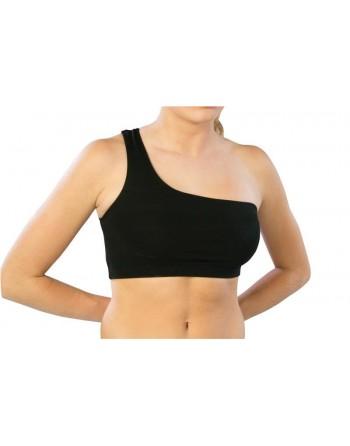 Taneční sportovní top - podprsenka na jedno rameno