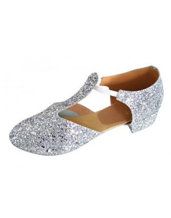 Řecké sandály třpytivé stříbrné 59acd01fba