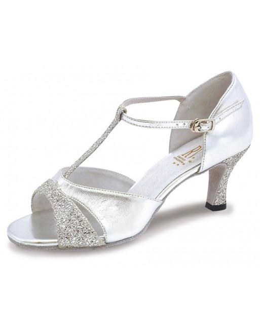 Stříbrné taneční boty Lucina