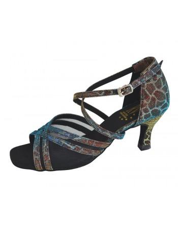 Barevné taneční boty Katia