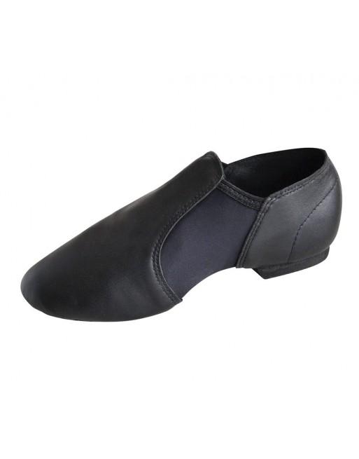 Ohebné uzavřené taneční boty RVNEO černé