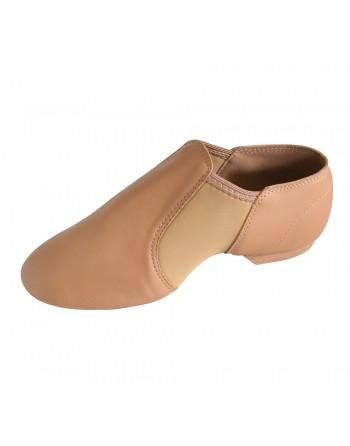 Ohebné uzavřené taneční boty RVNEO béžové