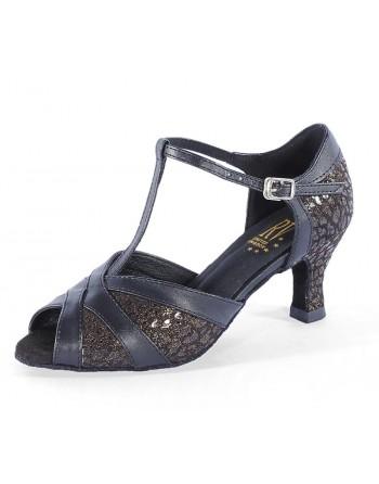 Taneční boty Leah, pro širší nohu