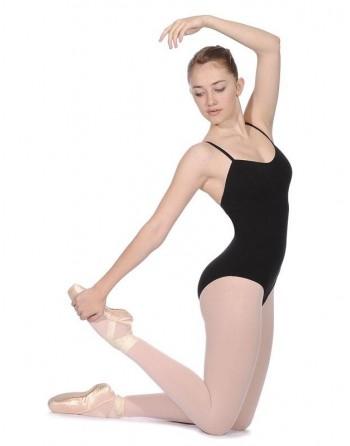 Dámský baletní trikot Bianca černý