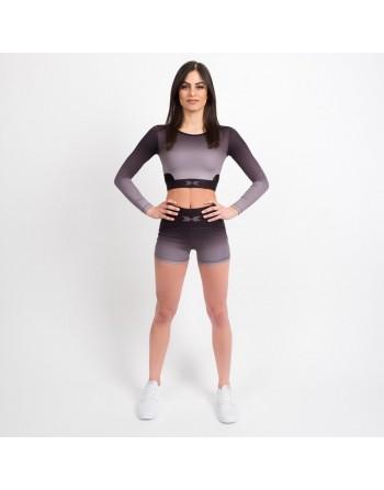 Sportovní kraťasy Black Ombré