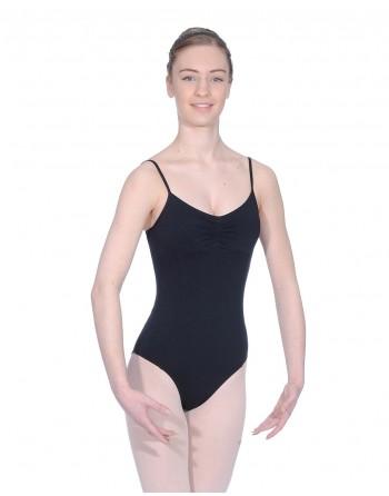 Baletní trikot Margot - mikrovlákno - černá