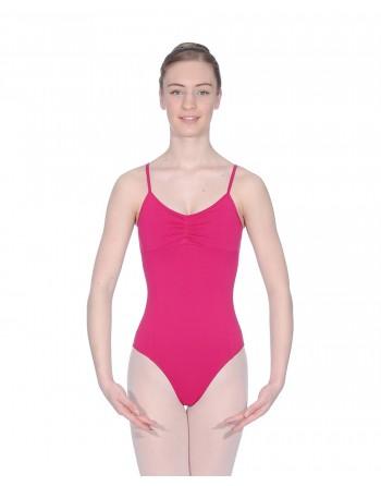 Baletní trikot Margot - mikrovlákno - sytě růžová