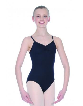 Baletní trikot Fouette černý zepředu